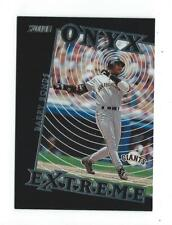 2000 Stadium Club Onyx Extreme #OE5 Barry Bonds Giants