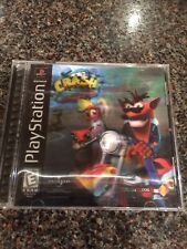 Sony Playstation 1 Crash Bandicoot Warped Game Manual And Case Good Condition