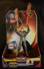 superman man of steel power attack deluxe General Zod Dual Destruction beams new