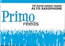 Primo #2 Alto Saxophone Reeds (Box of 10) BRAND NEW