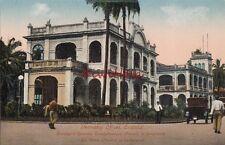 Postcard Steamship Offices Cristobal Panama