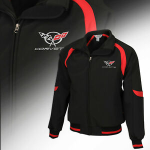 1997-2004 Mens Corvette Fast Lane Classic Jacket with Embroidered C Logo 620275