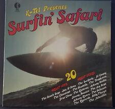 SURFIN' SAFARI - 20 GREAT HITS / 20 GREAT STARS 1976 K-TEL NA 502 OZ VINYL GREAT