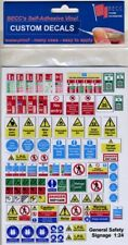 Becc General Safety Signage 1:48 Scale (GGS/48)