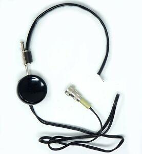 Vintage Headphone Ear Piece for CD V-700 CDV-750 Geiger Counter /  Ham Radio