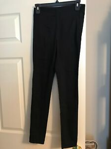 """Divided H&M HM Skinny Black Stretch Chinos Pants Size 6 and 28"""" Inseam"""