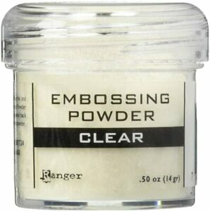 Ranger Embossing Powder 1oz Jar-Clear