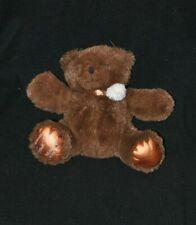 Peluche doudou ours brun marron BEAUTY SUCCESS 2013 Florence Foresti 20 cm TTBE