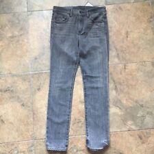 Helmut Lang NWT Grey Destroy Ankle Skinny Size 27 Jeans Org. $295
