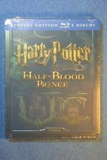 EU Import New+Sealed Steelbook Harry Potter and the Half Blood Prince Blu ray