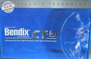 BRAND NEW BENDIX CT3 FRONT BRAKE PADS D477CT / D477 FITS VEHICLES ON CHART