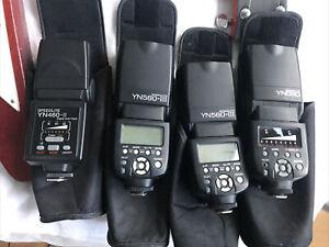 Yongnuo YN560 4 Flashes