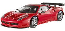 HOT WHEELS ELITE 1/18 FERRARI 458 ITALIA GT2 RED LAUNCH VERSION LTD. ED. X2860