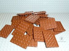 LEGO® 30 Platten Plättchen Plate 4x6 neues braun rotbraun reddish brown 3032 Neu