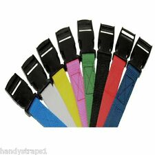 2 x 2.5m Side release Luggage/Suitcase Tie Down Strap by handy straps