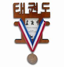 Taekwondo Wooden Korean Photo Frame Medal Display Item:08454 Martial Arts Gifts