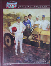 Vintage 1986 Indy 500 Race Program 70th Race Bobby Rahal's Win