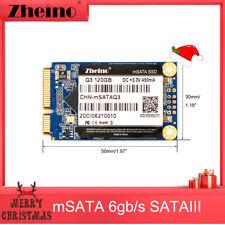 Zheino SSD msata 120GB Internal 3D NAND Solid State Msata Drive Disk (120GB)