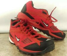 Nike Air Bowerman Series 7.5 Red Black Waffle Racer Sole Lace Up Athletic