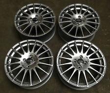 "17"" OZ Superturismo Alloy Wheels 4X100 VW Lupo Caddy Corsa Honda"