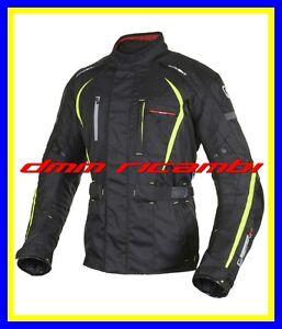 Oxford Delta Giacca tessile motociclistica Nero//Verde 3XL