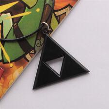 Legend of Zelda Triforce Necklace Black