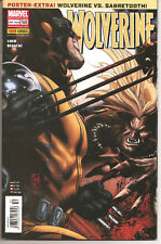 ° Wolverine 50 ° Book Panini German Wolverine vs Sabretooth with Poster XL