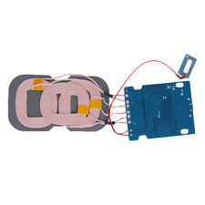 Qi Wireless Charger Pcba Circuit Board With 3 Coil Wireless Charging Pad Diy hA