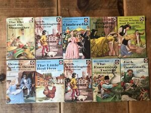 Ladybird Well Loved Tales Matt x 10 inc CINDERELLA, SNOW WHITE, SLEEPING BEAUTY