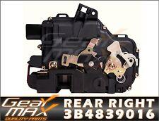 New Rear Right Door Lock Mechanism Actuator SKODA Octavia Fabia - 3B4839016