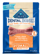 NATURAL Blue Buffalo Dog SMALL Bones Dental Breath Healthy Treats MADE IN USA