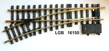 LGB 16150 G - elektische Weiche links R3 22,5° NEU & OvP