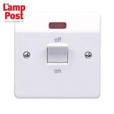 MK K5105WHI Logic Plus 1 Gang Switch Neon 32a