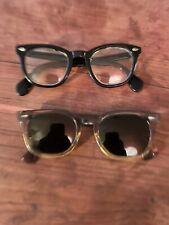 Two pairs vintage American Optical eyewear 1 sunglasses 1 eyeglasses