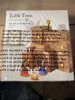 2016 Dept 56 Little Town of Bethlehem The Inn at Bethlehem #4050943 Set of 5 NIB
