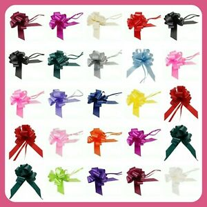 Large 50mm Party Pull Bows Weddings Party Florist Wrap Ribbon Flower UK SELLER