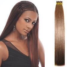 Human hair quality Medium Auburn Yaki Bulk Micro Braiding Hair Top Synthetic