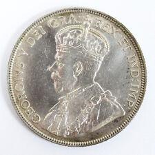 1917 C Canada /Newfoundland Silver - 50 Cents Km-12 Cleaned - AU #01331426g
