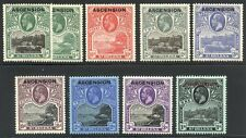 ASCENSION #1-9 Mint - 1922 K G V Pictorials