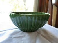 Haeger Green Oval Pottery Planter