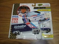 Road Champs Official Stock Car Collection Team Transporter Transport Mark Martin