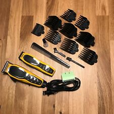 Wahl Professional 15 Piece Shaver Clipper Trimmer Barber Set Pro Combo Hair Kit