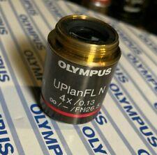 Olympus UPlanFLN 4x 0.13 UIS2 Objective