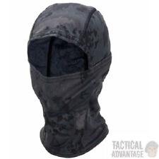Black Camo Airsoft Balaclava Face Wrap Sniper Veil Head Face Cover Camouflage UK