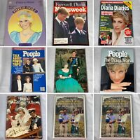 (Lot Of 8) Princess Diana And The Royal Family Books Magazines & More William L3