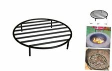 onlyfire Round Fire Pit Grate with 4 Legs for Outdoor Campfire Grill 19-Inch