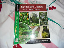 PB Landscape Design for the Home Owner book GUC Lynton Johnson Briza Gardening
