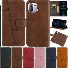 Retro Wallet Leather Case Cover For Xiaomi Mi 11 10T Poco M3 X3 Redmi Note 10 4G