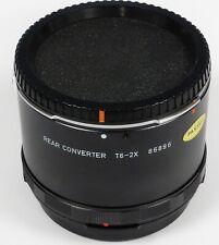 Pentax 67 2x Convertidor Extensor Teleconvertidor T6-2x trasero se adapta a 6x7 67 67II