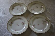 Four Old Abbey Limoges Porcelain Bread and Butter Plates